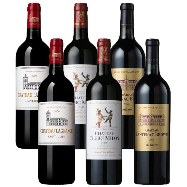 Bordeaux Kleinflaschen Paket - 6 x 0,375l