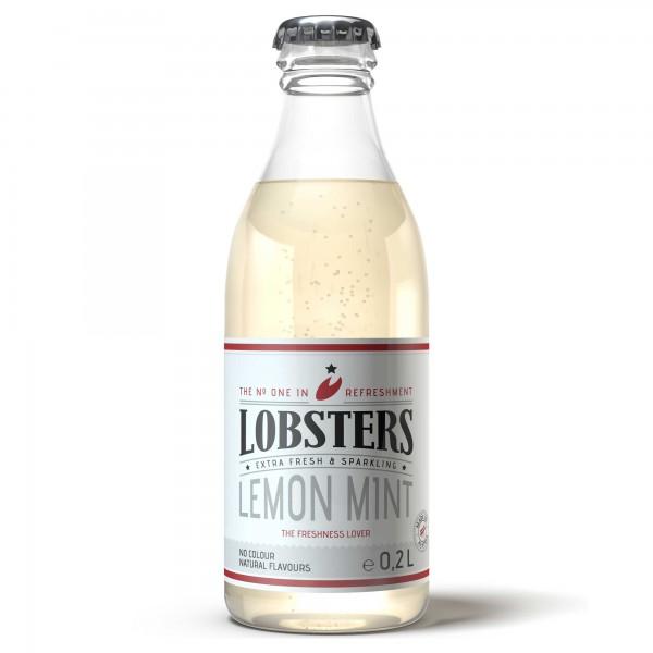 Lobsters 0,20L Lemon Mint (24 x 0,2l)