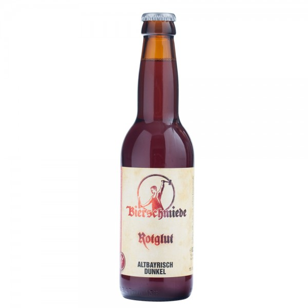 Bierschmiede 0,33L Rotglut