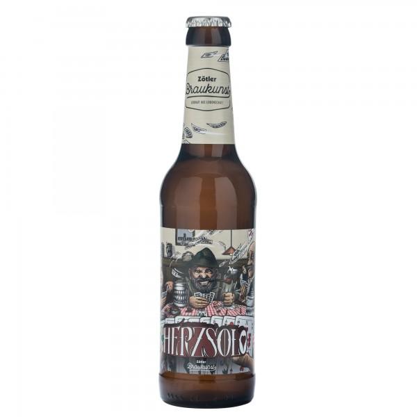 Zötler Brauerei 0,33L Herzsolo